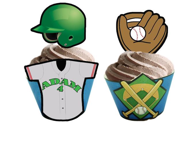 baseball toppers