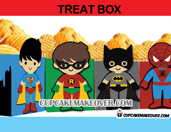 superhero popcorn