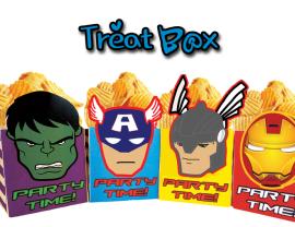 avengers treat boxes