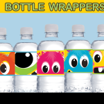 monster bottle wrappers