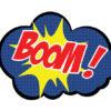 comic bubble boom photo props