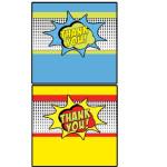 comic book candy bar wraps