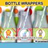 cute printable carnival bottle labels