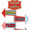 welcome circus party signs