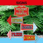 circus directional arrows
