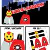 superhero party ironman lollipop
