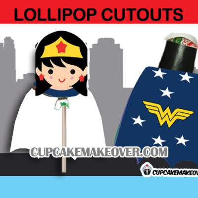 wonder woman lollipop costume