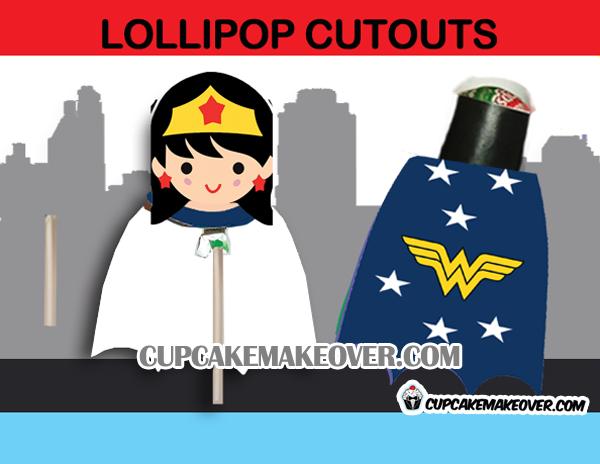 wonder woman lollipop costume