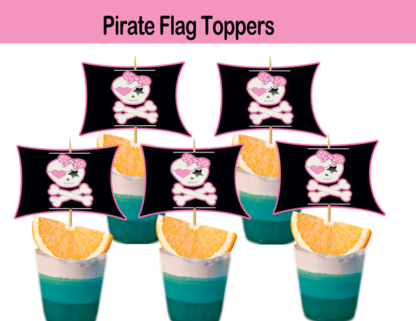 Pirate Flags girls