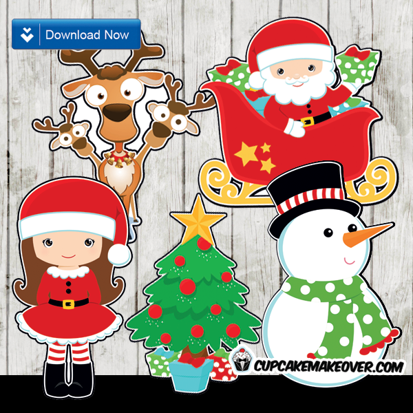 Christmas Centerpieces, Printable Decorations – INSTANT ...