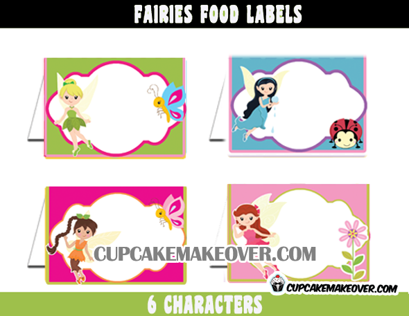 Fairy Editable Food Labels
