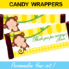 yellow candy wrappers mod monkey