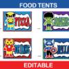 avengers food tents