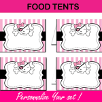 editable food tents