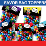 favor bag labels
