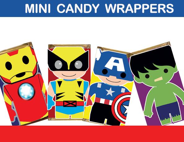 mini candy wraps
