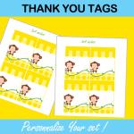 yellow favor tags mod monkey