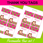 mod monkey thank you tags