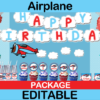 plane party package