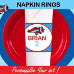 plane napkins