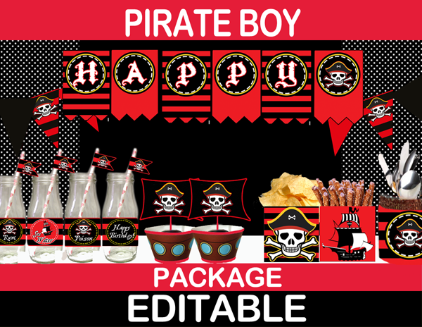 Pirates party ideas