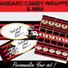 printable pirates candy wrappers