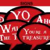 pirates comic signs