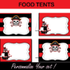 pirates editable foor tents