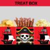 pirates printable treat box
