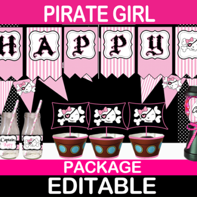 pirate girl birthday