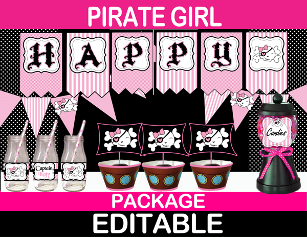 pirate girl birthday
