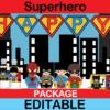 Superhero Birthday package