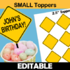 editable construction toppers