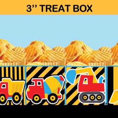 construction party popcorn box