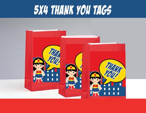 wonder girl superhero party package