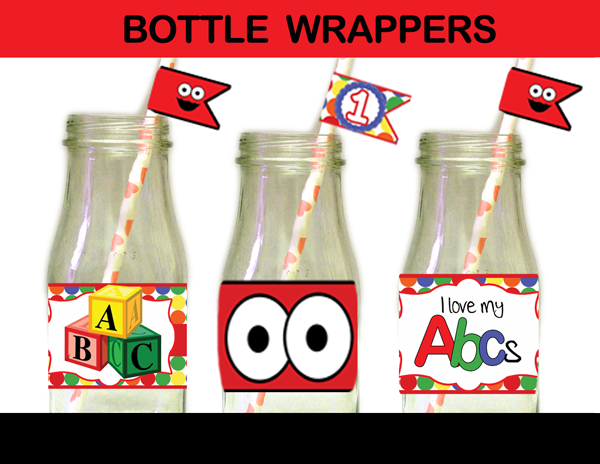 elmo bottle labels printable