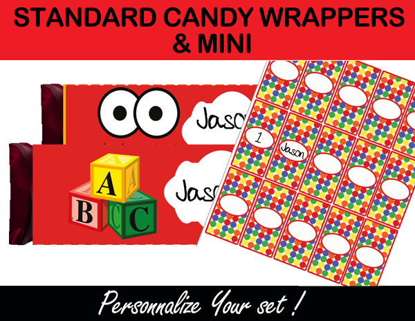 elmo candy wrappers printable
