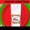 elmo napkin wrappers