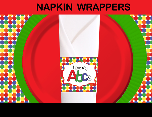 elmo napkin wrappers