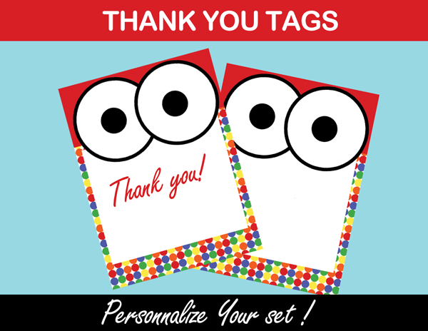 elmo favor tags