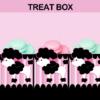 poodle in paris popcorn box treat