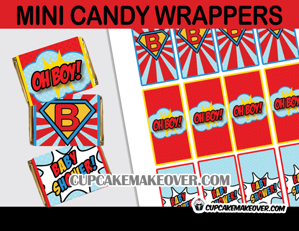 super baby candy wraps labels