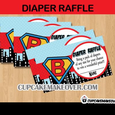 super baby diaper raffle