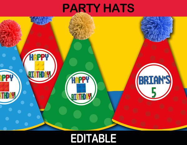 40-Buidling-Blocks-Party-hats