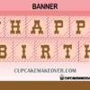 cute cowgirl western birthday banner