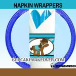 cowboy western napkin rings