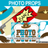cute fun printable photo props western cowboy