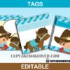 western tags