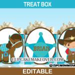 western popcorn box