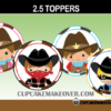 cutew cowboy cowgirl toppers